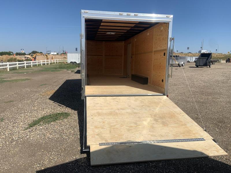 8.5x20 Tandem Axle Enclosed 7k Cargo Trailer