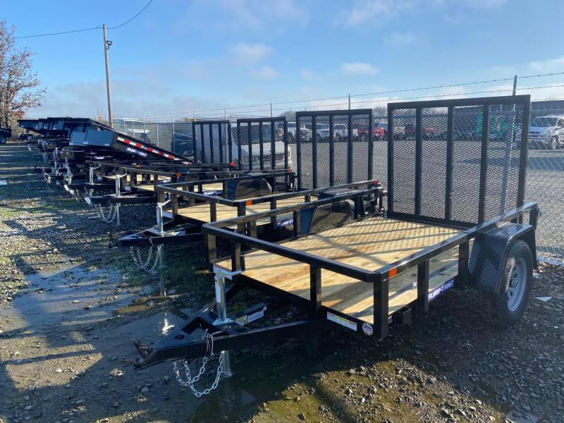 2021 Sure-Trac 5x8 Utility Trailer with ramp gate