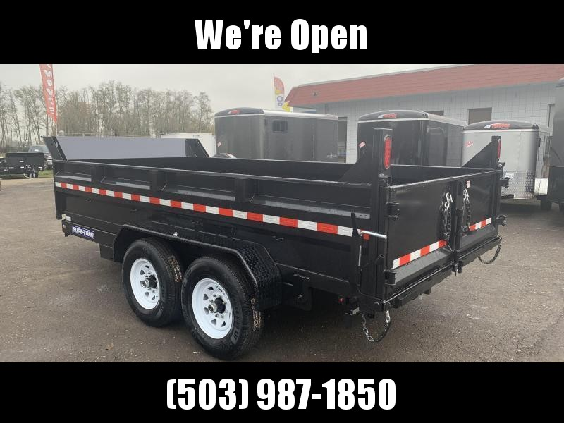 7x14 Dump Trailer 14K Scissor Dump And Ramps