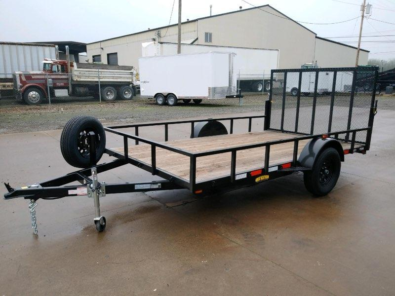 2020 Great Northern Trailer Utility Trailer with Spring Assisted Ramp