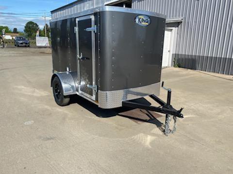 5x8 Enclosed Cargo Trailer  **  Rear Double Doors  **