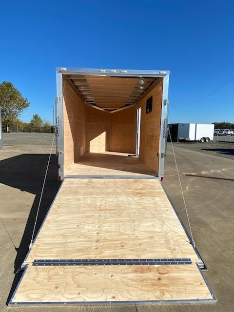 7 x 14 Enclosed Cargo Trailer. **All aluminum ** 30X15'' Side Window ** Rear Ramp Door ** 6'' of added height