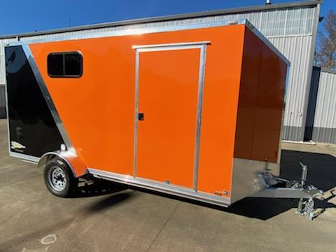7 x 14 Enclosed Cargo Trailer. ** 30X15'' Side Window ** Rear Ramp Door ** 6'' of added height