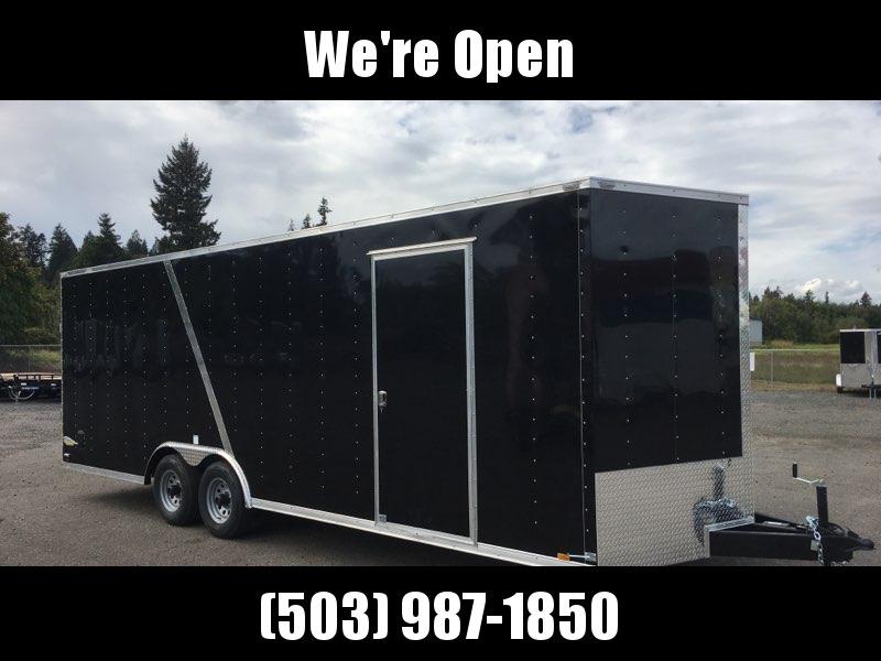 8.5x24 10k Enclosed Cargo Trailer **Plus Height**