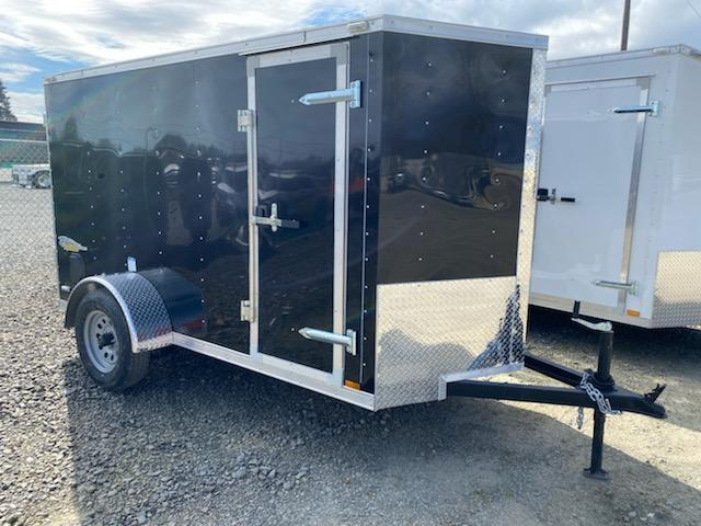 2021 5x10 Enclosed Cargo Trailer  ** 6'' of extra height  **  Rear Ramp Door  **