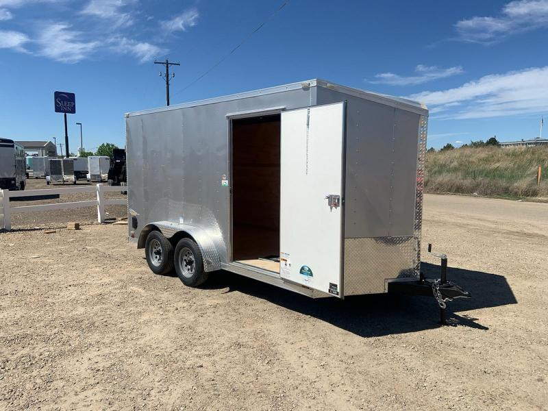 7x14 Tandem Axle 7k Enclosed Cargo Trailer