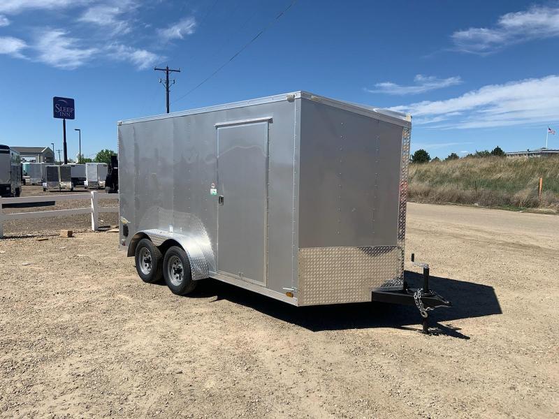 7x14 Tandem Axle 7k Enclosed Cargo Trailer