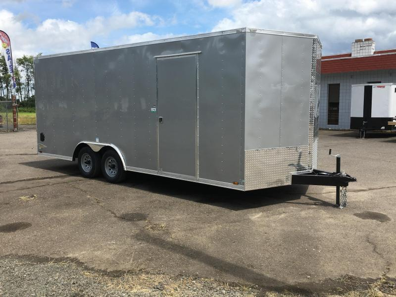8.5x18 7k Enclosed Cargo Trailer **Plus Height**