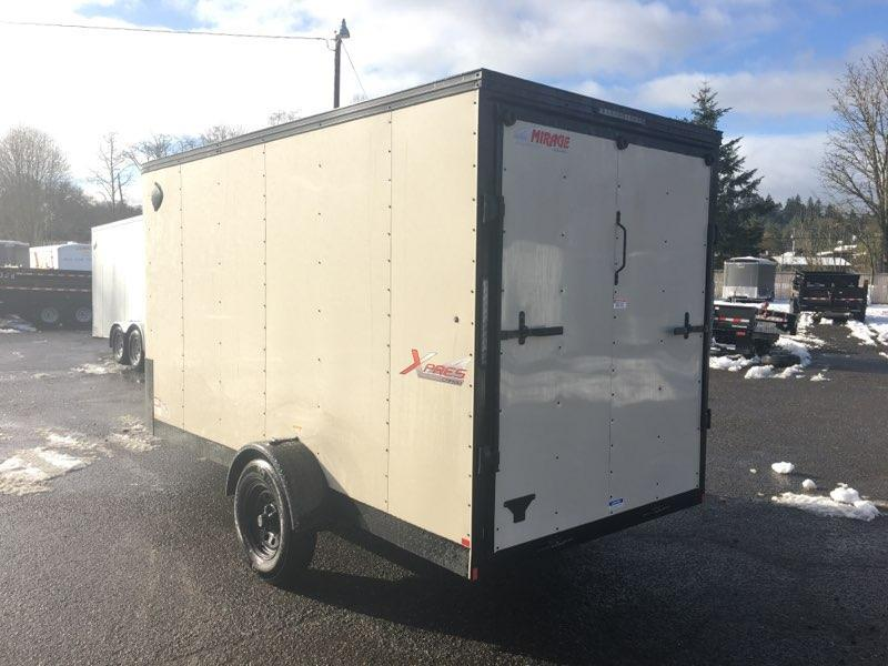 6x12 Enclosed Cargo Trailer With Ramp Door