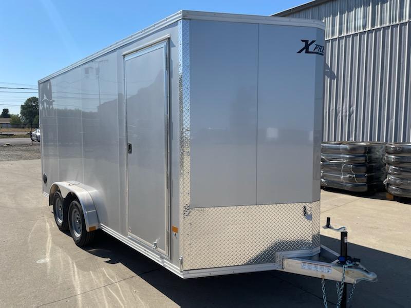 2021 ALCOM 7.5x16 Enclosed Cargo Trailer