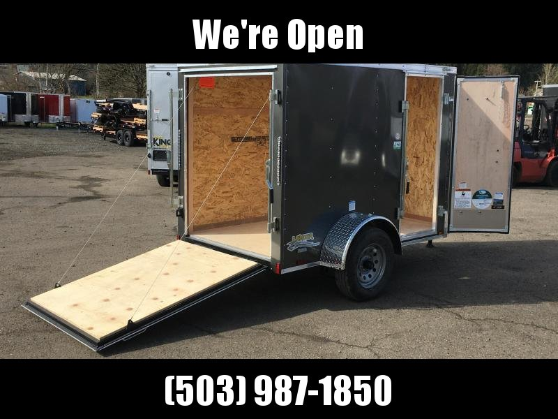 5x8 Enclosed Cargo Trailer
