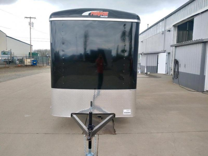 6x12 Enclosed Cargo Trailer  **  Rear Ramp Door  **  6'' of extra height  **