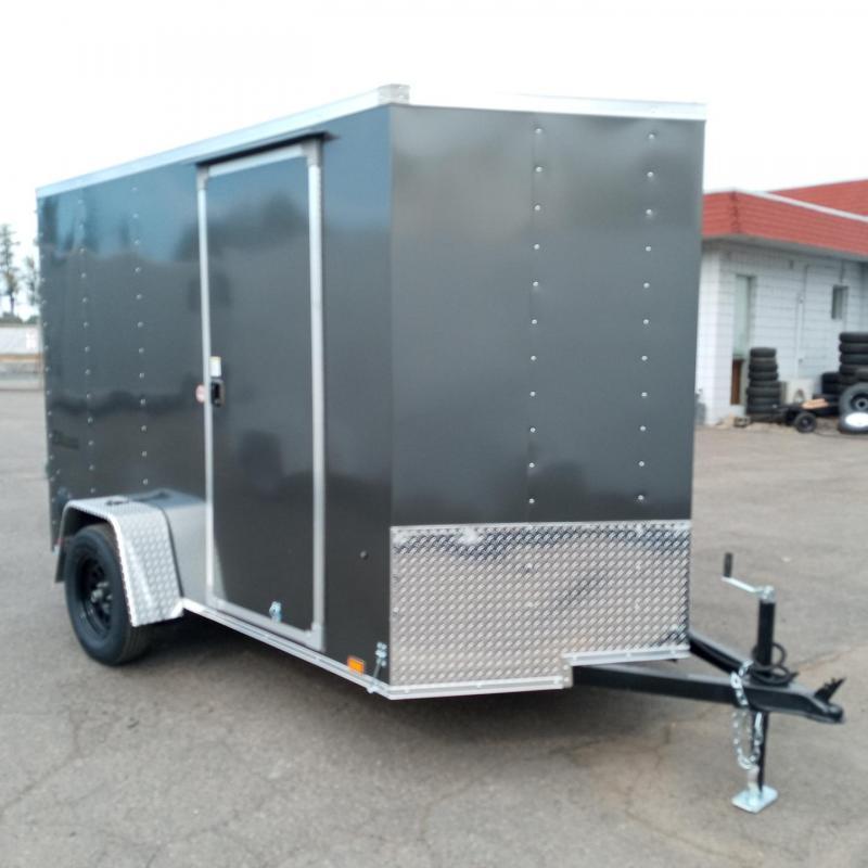 6x10 Enclosed Trailer With Rear Ramp Door **FACTORY ORDER**