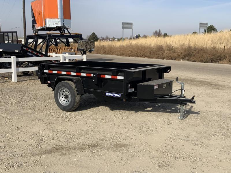 New 5x8 Single Axle Heavy Duty 5k Dump Trailer