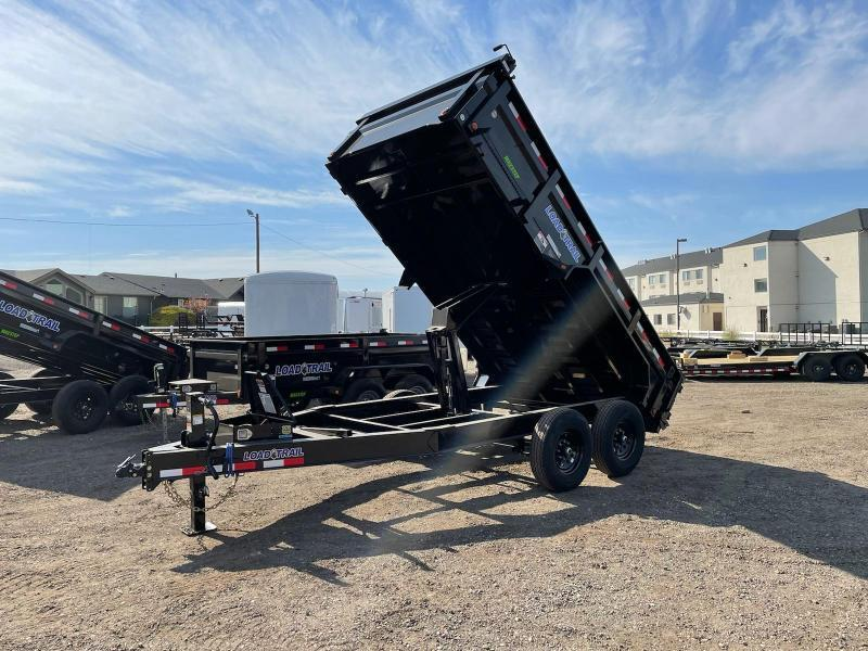 7x14 14k Dump Trailer with Tarp