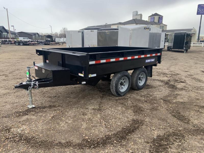 6x10 Heavy Duty Deck Over Dump Trailer