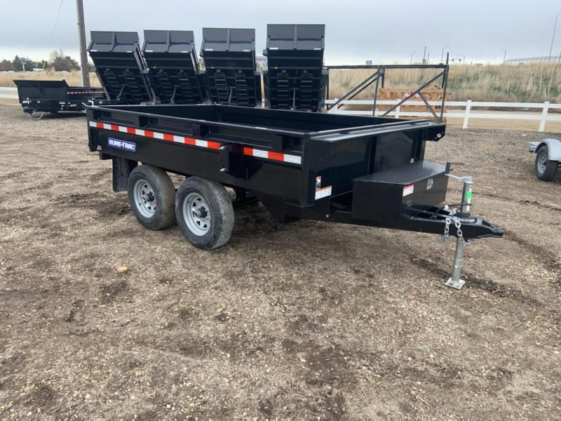 6x10 Heavy Duty Deck Over Dump Trailer