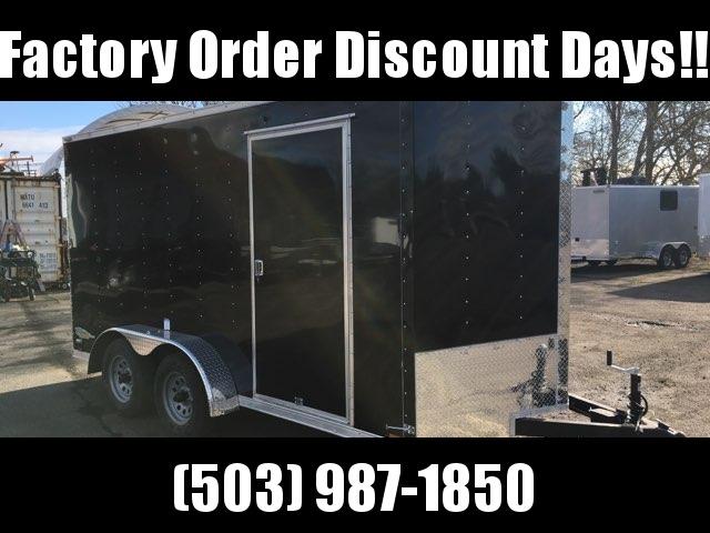 7x14 Tandem Axle Enclosed Cargo Trailer **FACTORY ORDER**