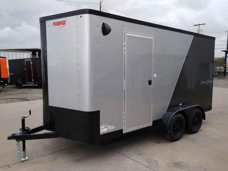 7 x 14 Enclosed Cargo Trailer ** Side x Side package ** 6'' of Extra Height **