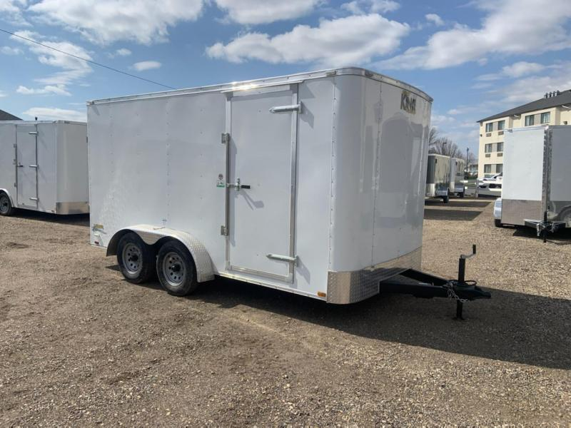 7x14 Tandem Axle Enclosed 7k Cargo Trailer