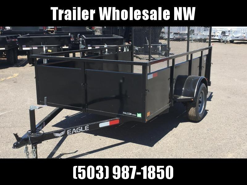 6x12 Utility Trailer With Drop Down Gate