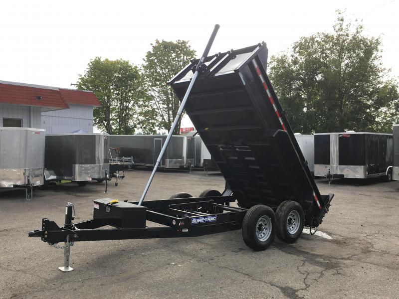 6x12 12K Dump Trailer With  Telescopic Ram