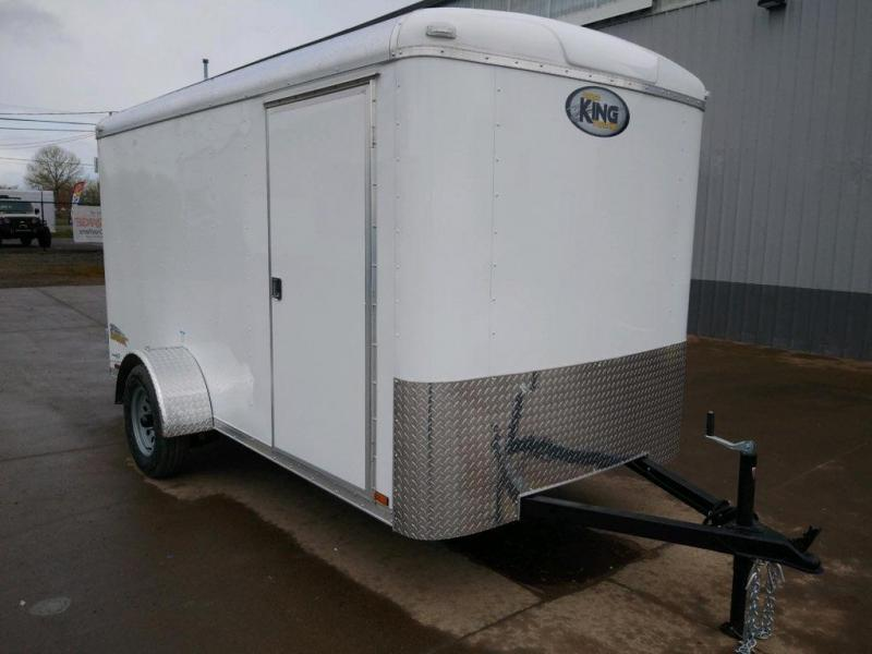 2021 Cargo King 6x12 Enclosed Cargo Trailer