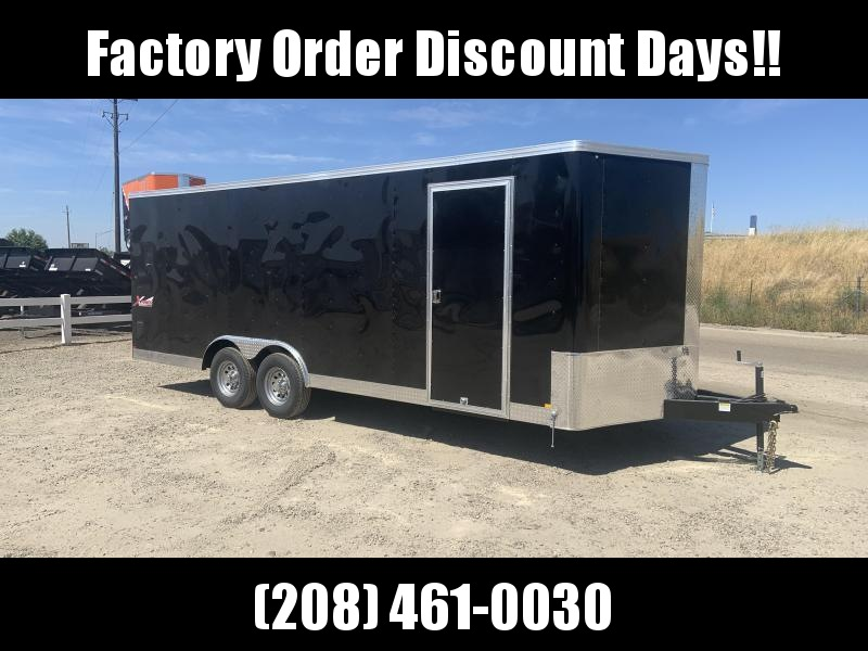 8.5x20 Tandem Axle 10k Enclosed Cargo Trailer **FACTORY ORDER**