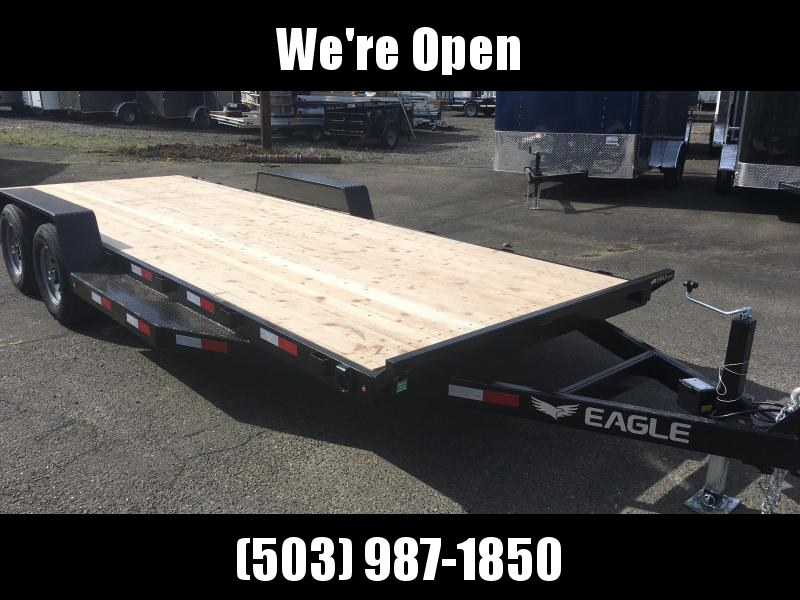 7x20 Car Hauler 7k Open Utility Trailer