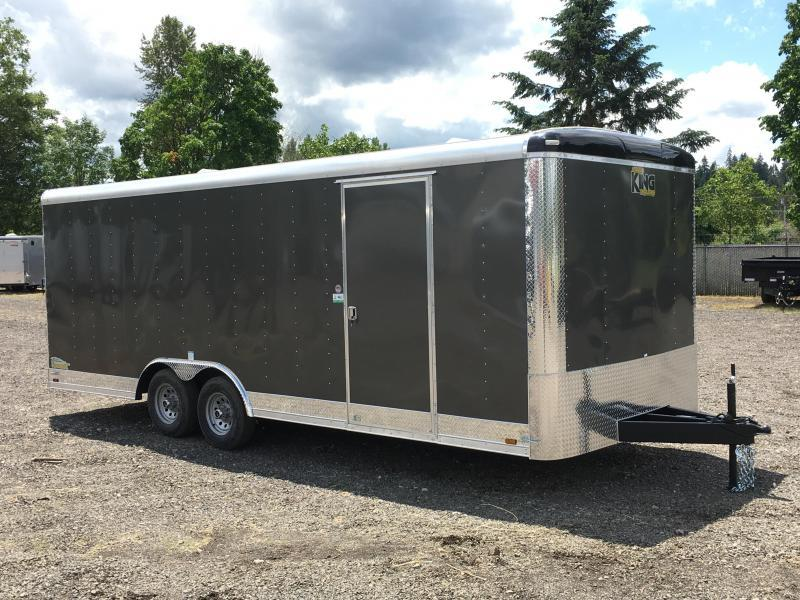 8.5x24 10k Enclosed Cargo Trailer ** Plus Height **