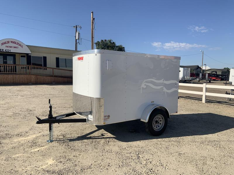 Mirage 5X8 Single Axle Enclosed Trailer With Rear Ramp Door