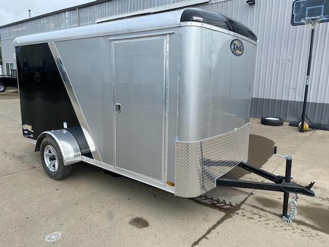 6x12SA Enclosed Cargo Trailer  **  Torsion Axles  **  Finished Ceiling  **