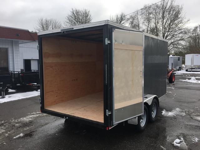 7x14 Enclosed Cargo Trailer **  Double Door  **  6'' of extra height