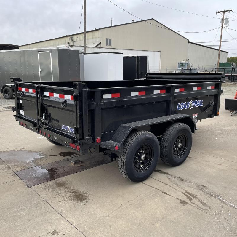 7x12 14k Tandem Axle Dump Trailer