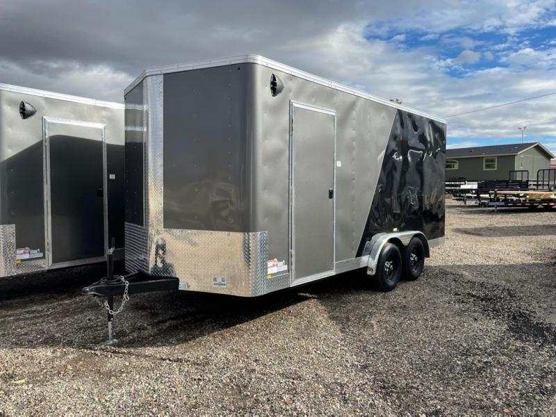 7.5x16 Tandem Axle Enclosed Cargo Trailer **Side by Side**