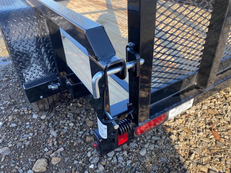New Sure-Trac 5x8 Heavy Duty Utility Trailer With Ramp Gate