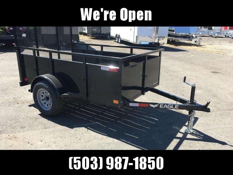 5x8 Utility Trailer With Drop Down Gate