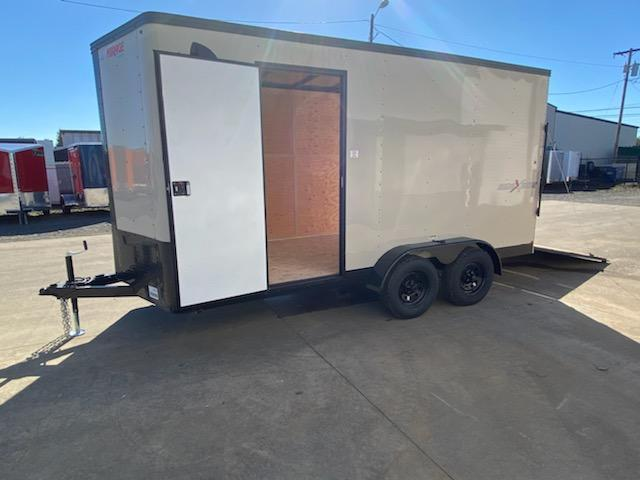 Enclosed Cargo Trailer ** Desert Tan Side x Side Package ** Pitch Black Package **