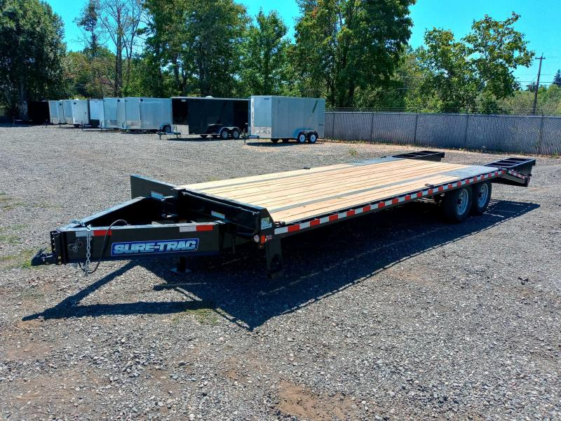 8.5x20+5' Deckover Trailer  **  5' Beavertail  **  Stand-up Ramps  **