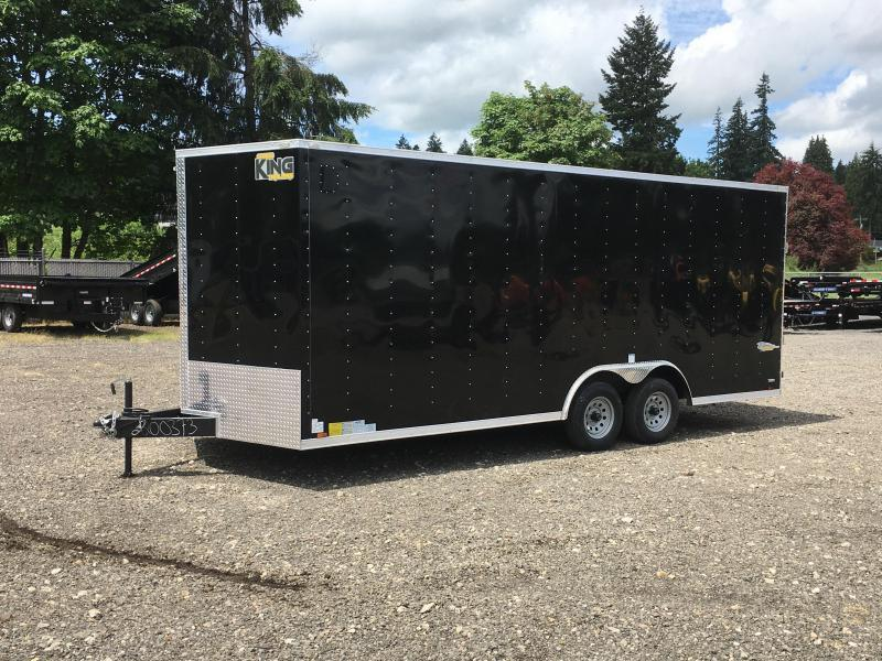 8.5x24 10k Enclosed Cargo Trailer **Plus Height**