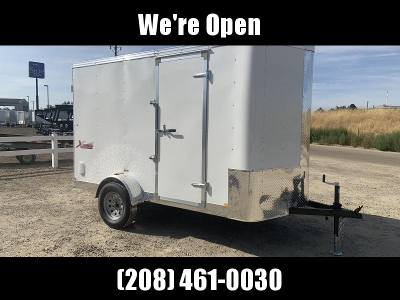 6x10 Single Axle Enclosed Cargo Trailer