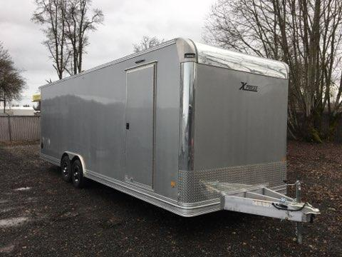 8.5x26 ALL ALUMINUM Tandem Axle 10k Enclosed Cargo Trailer