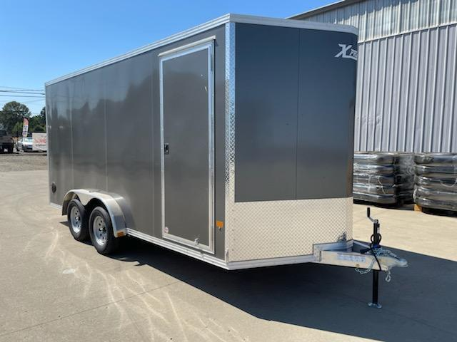 7x16 All Aluminum Enclosed Cargo Trailer  **  6'' of additional height  **