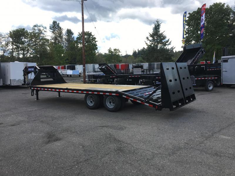 8.5x25 Gooseneck Equipment Trailer 22.5K