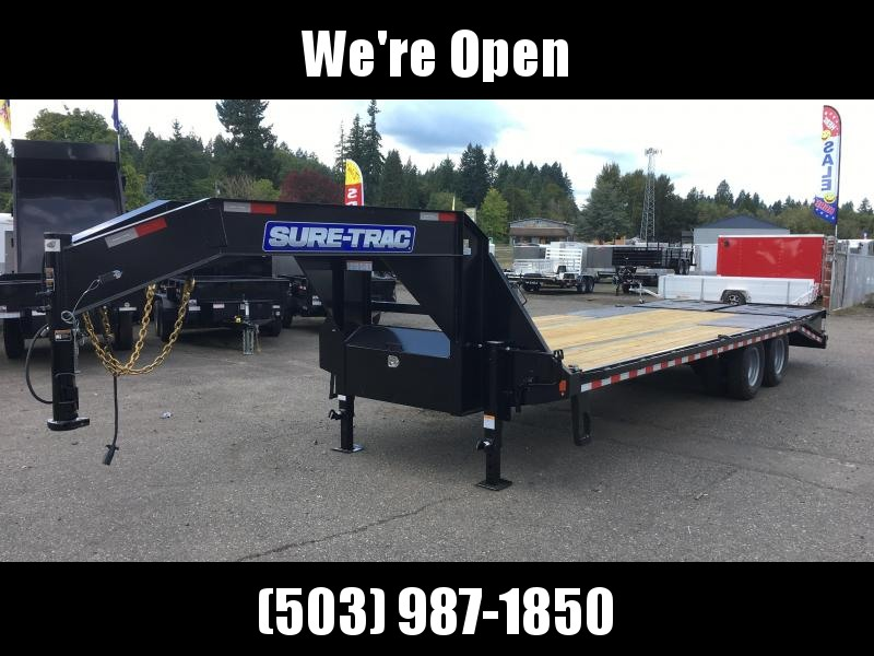8.5x25 Gooseneck Equipment Trailer 22.5K