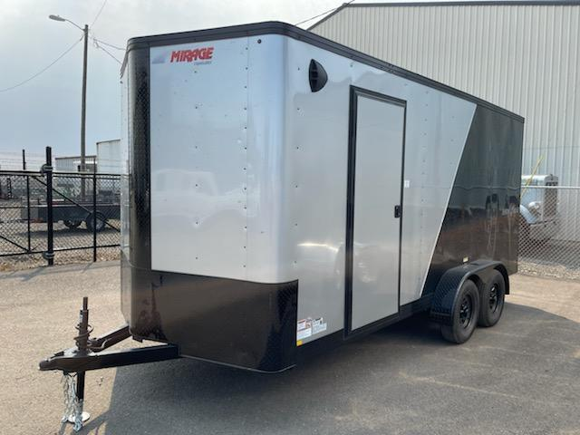 2022 Mirage Trailers 7X16 **  Side X Side Package  **  6'' of additional height  **
