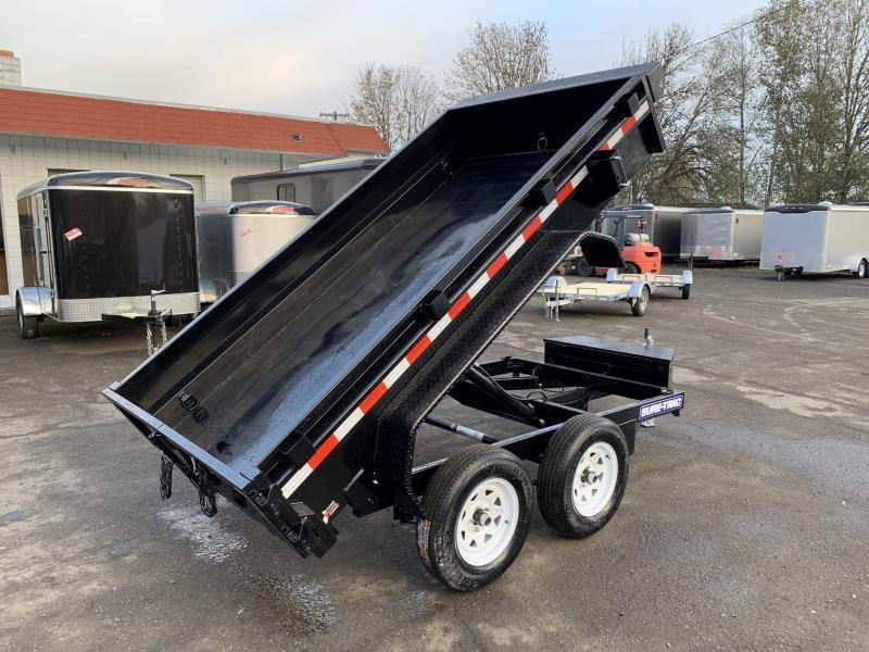 New 5x10 7K Tandem Axle Dump Trailer