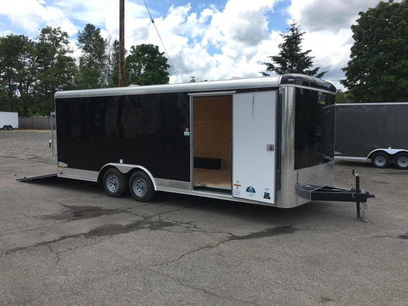 8.5x20 Enclosed Car Cargo Trailer