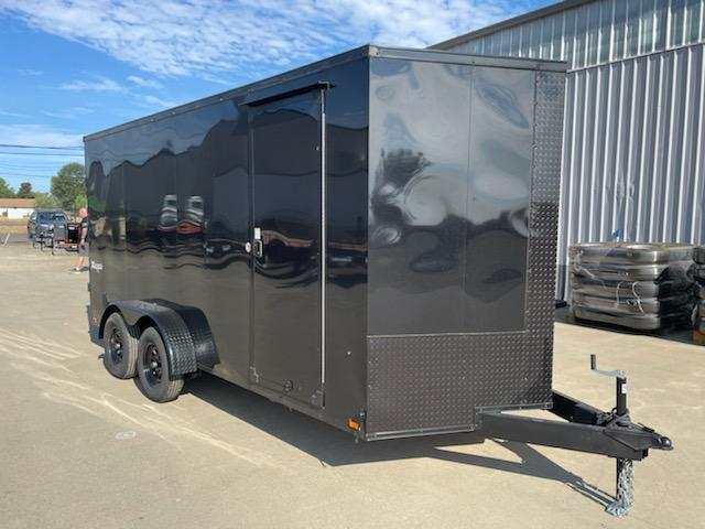 2022 7X14TE2FF Enclosed Cargo Trailer  **  6'' of additional height  **  Rear Ramp Door  **