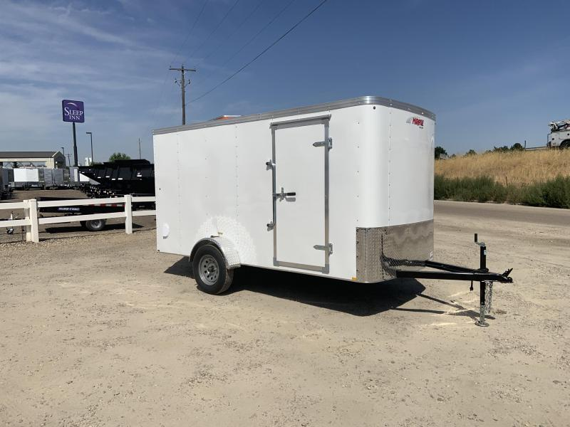 6x12 Single Axle Enclosed Cargo Trailer